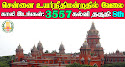 Madras High Court Recruitment 2021 3557 Office Assistant Posts