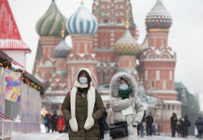 Kremlin di Wabah Virus Corona