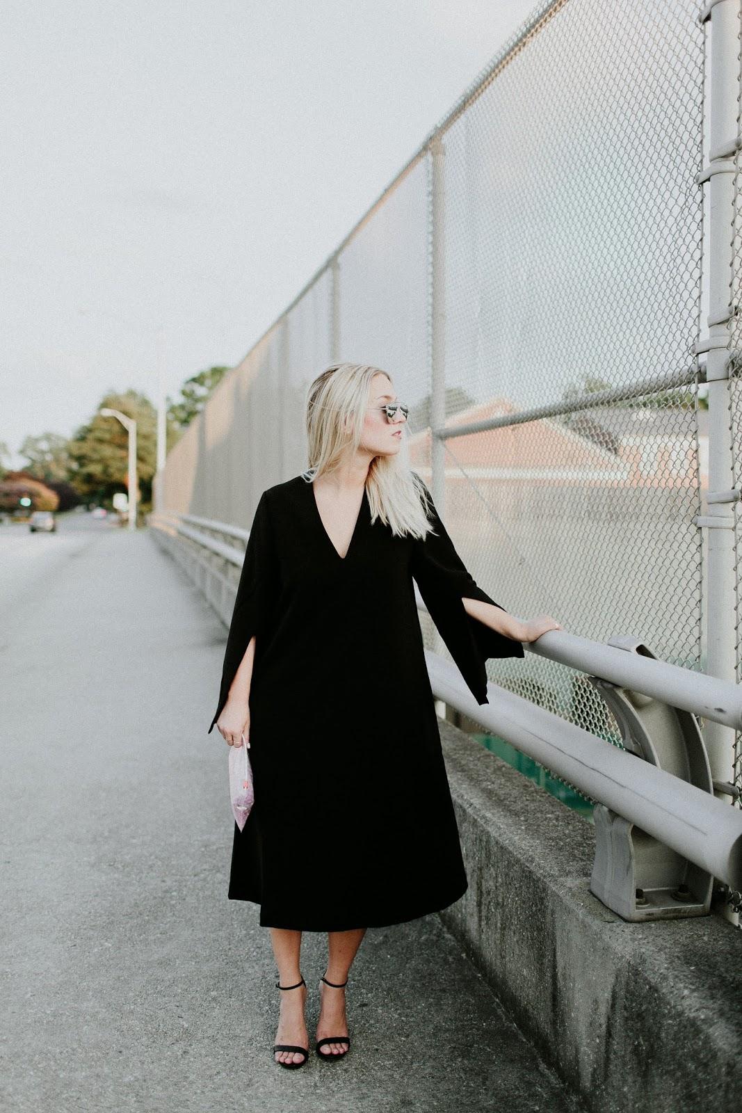 Little Black Midi Dress