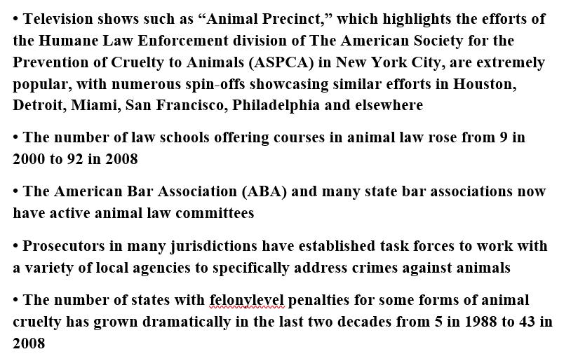 Prosecuting Anti-Cruelty Laws