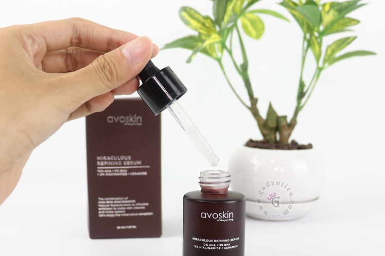 Review Avoskin Miraculous Refining Serum