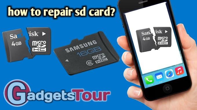 How to repair crupted sd card(memory card) क्रप्ट मेमोरी कार्ड को कैंसे रिपेयर करें?