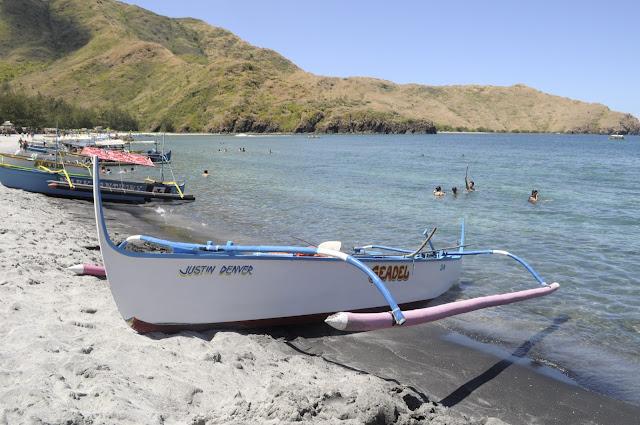 Beaches in the philippines zambales anawangin cove