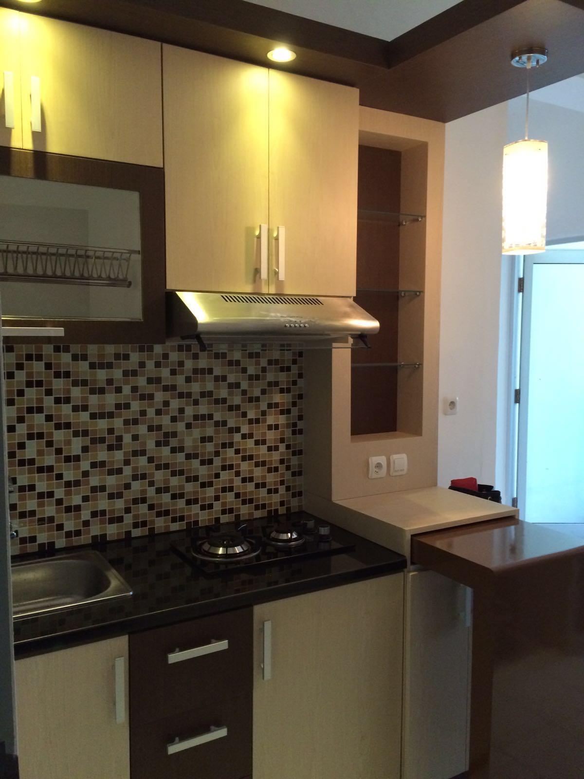 Cv tridaya interior desain interior apartemen type for Kitchen set apartemen