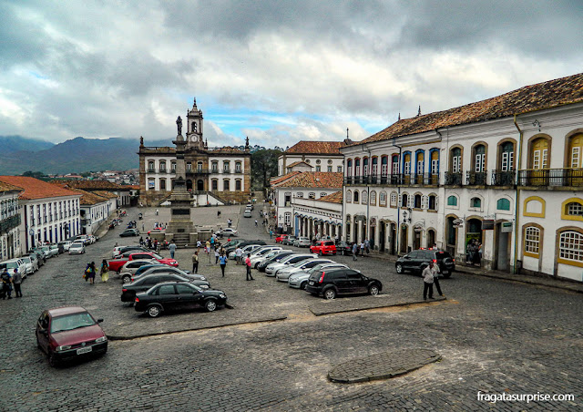 Praça Tiradentes, Ouro Preto, Minas Gerais