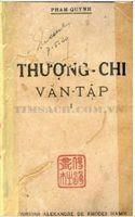 Thượng Chi Văn Tập 1