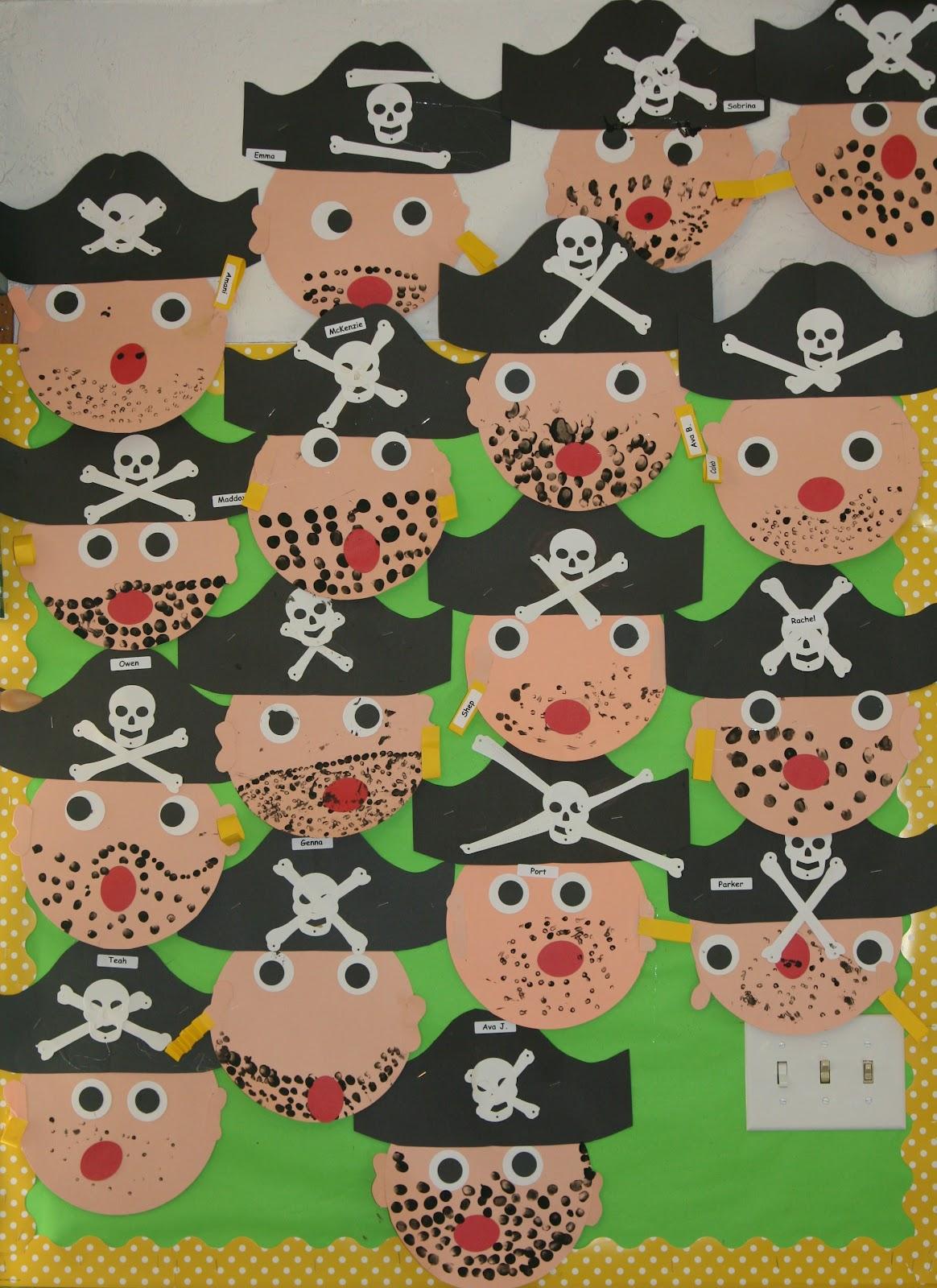 Pirates Crafts Nolan Kindergarten Theme Pirates Pirates
