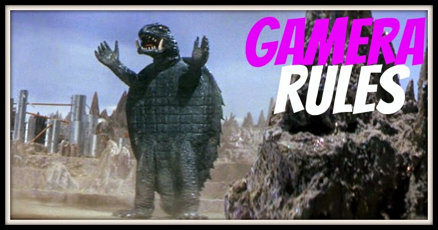 vs. Gamera vs. Guiron