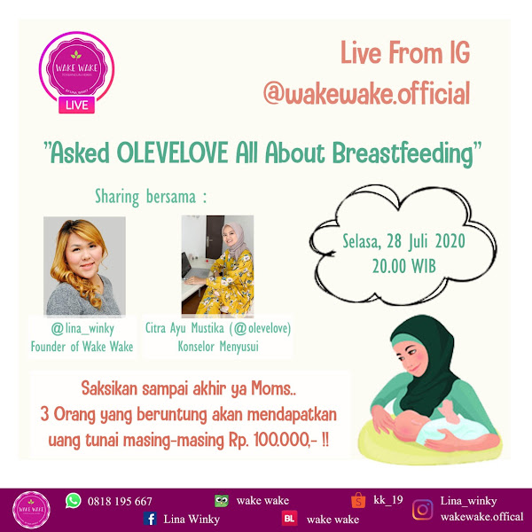 Live Instagram : Asked Olevelove All About Breastfeeding