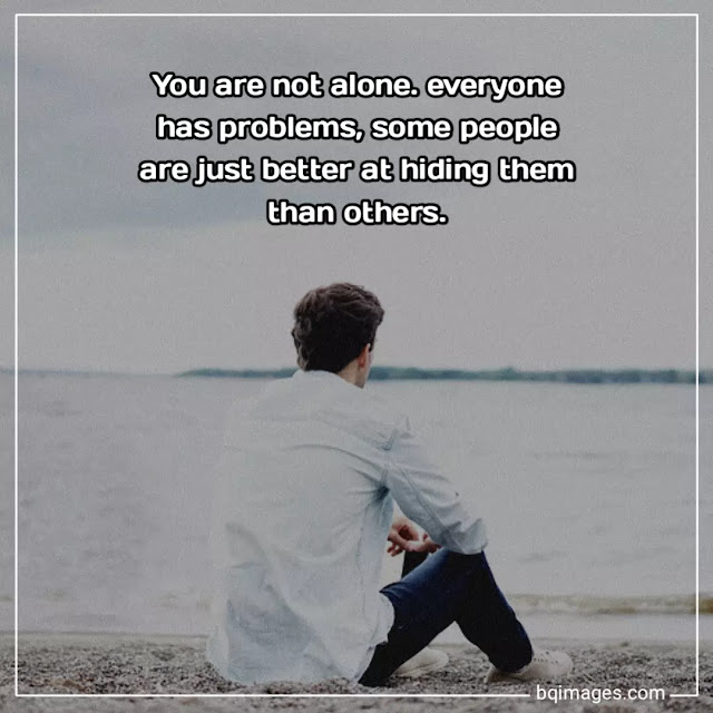 alone images with sayings
