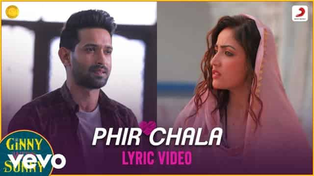 फ़िर चला Phir Chala Lyrics In Hindi - Jubin Nautiyal