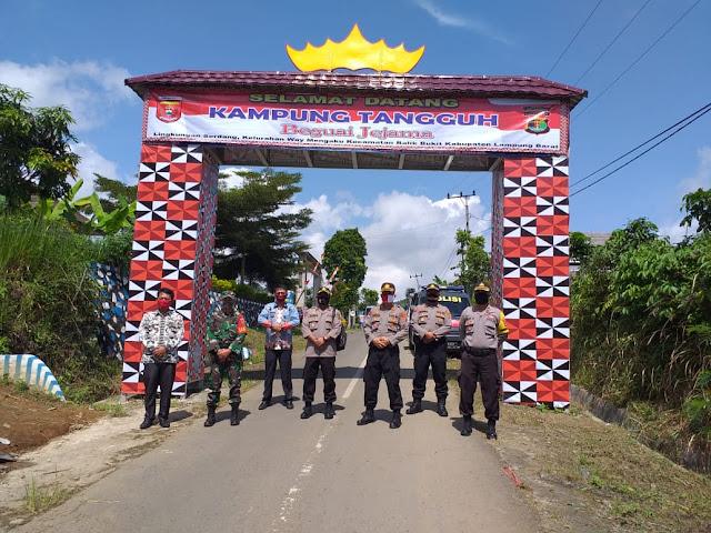 Cek Kesiapan  Untuk Menjadi KTN Tim Dit Binmas Polda Lampung Sambangi Lingkungan Serdang Lampung Barat