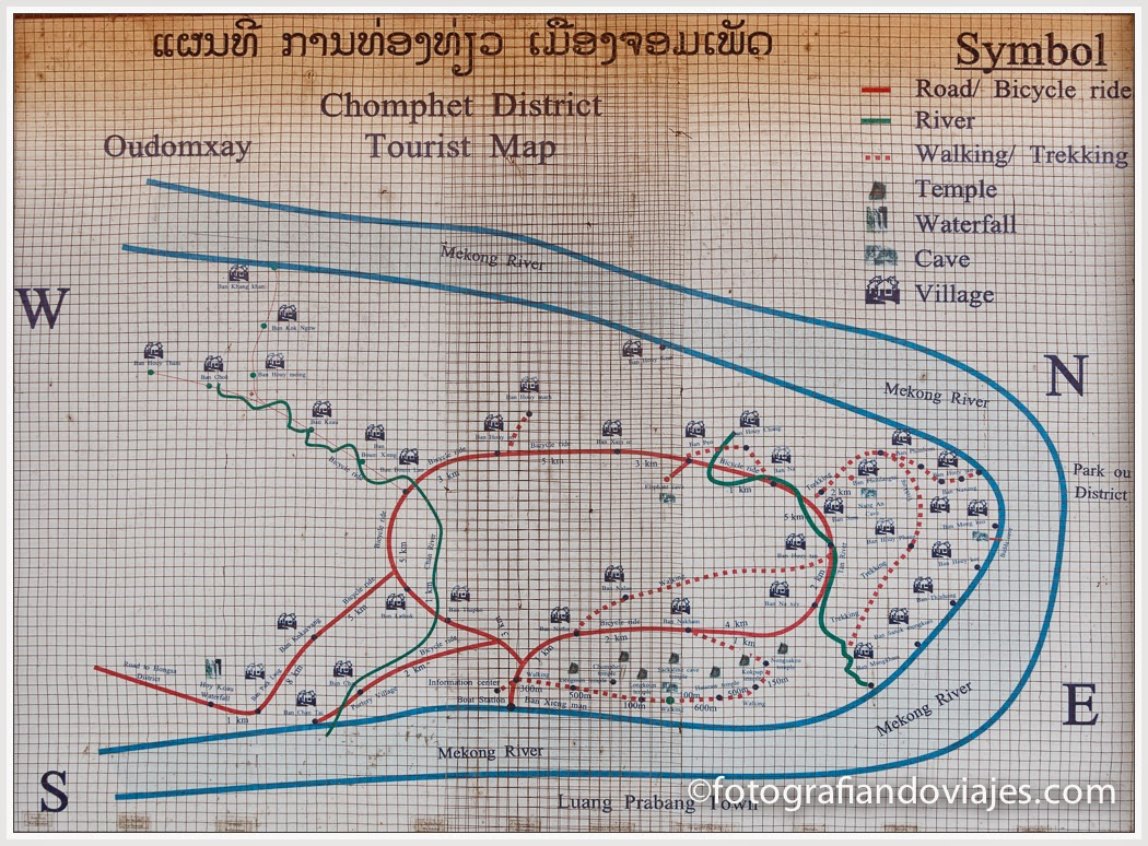 Plano de Ban Xieng Maen