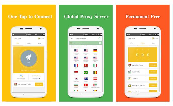 Yoga VPN - Free Unlimited & Secure Proxy & Unblock