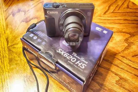 Kamera Vlog Murah SX620