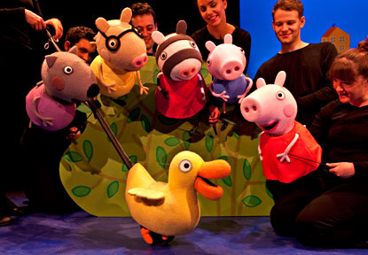 Lashes And Little Ones Review Peppa Pig Live