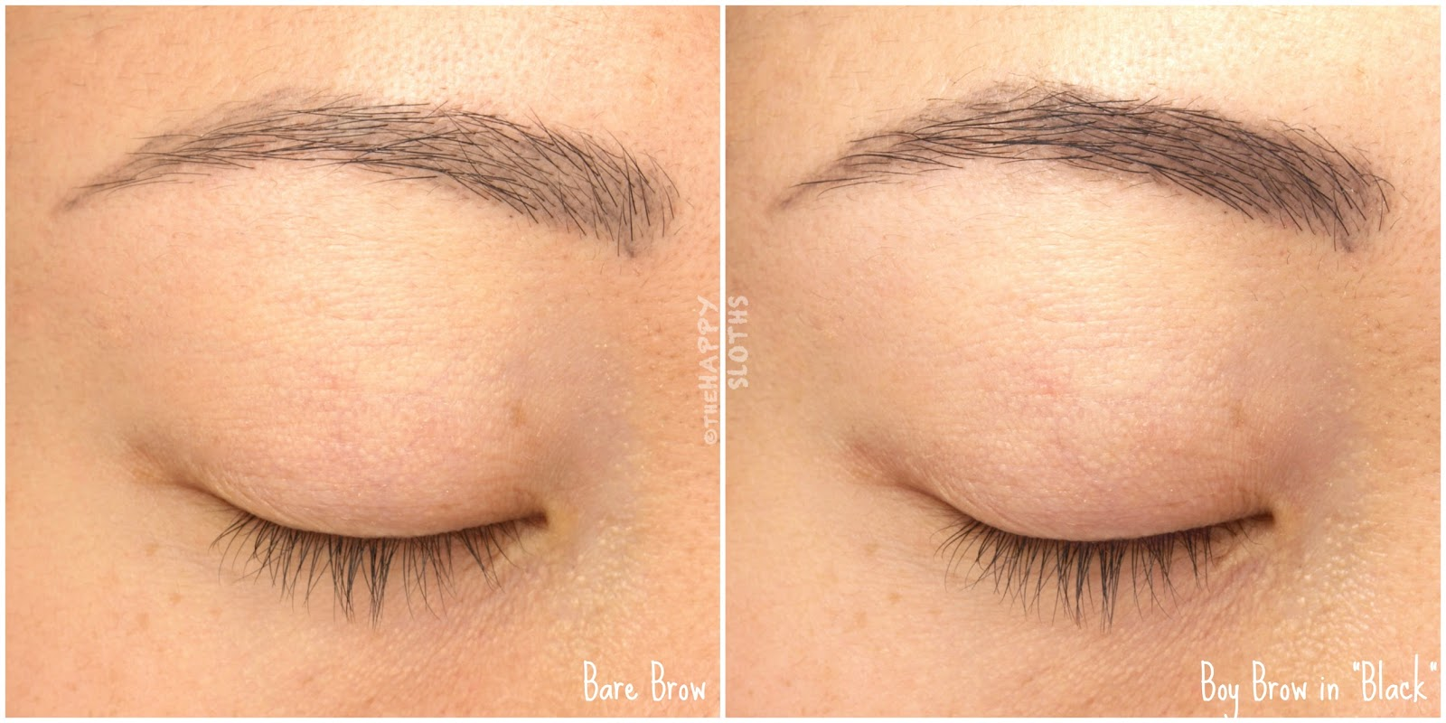 glossier wowder boy brow review and swatches the happy sloths