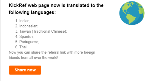 translated to these languages