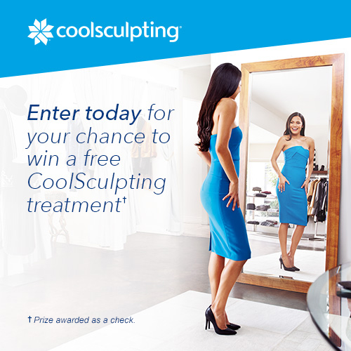 Zeltiq is offering you a chance to enter weekly to be one of 26 lucky winners of a FREE CoolSculpting treatments worth $3000 to jump start your beauty routine!