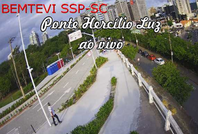 Câmera ao vivo da Ponte Hercílio Luz Florianópolis