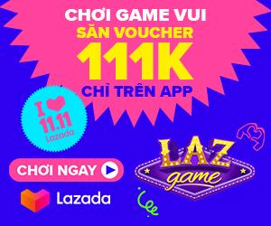 Lazada 1111- chơi game vui