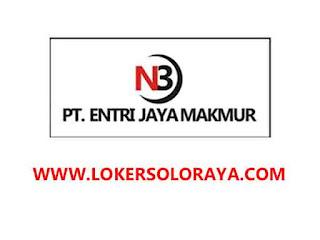 Loker Welder Lulusan SMK di PT Entri Jaya Makmur Solo