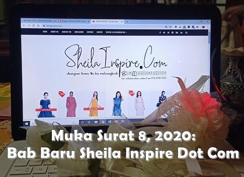 Muka surat 8 2020: Entri Pertama Sheila Inspire Dot Com
