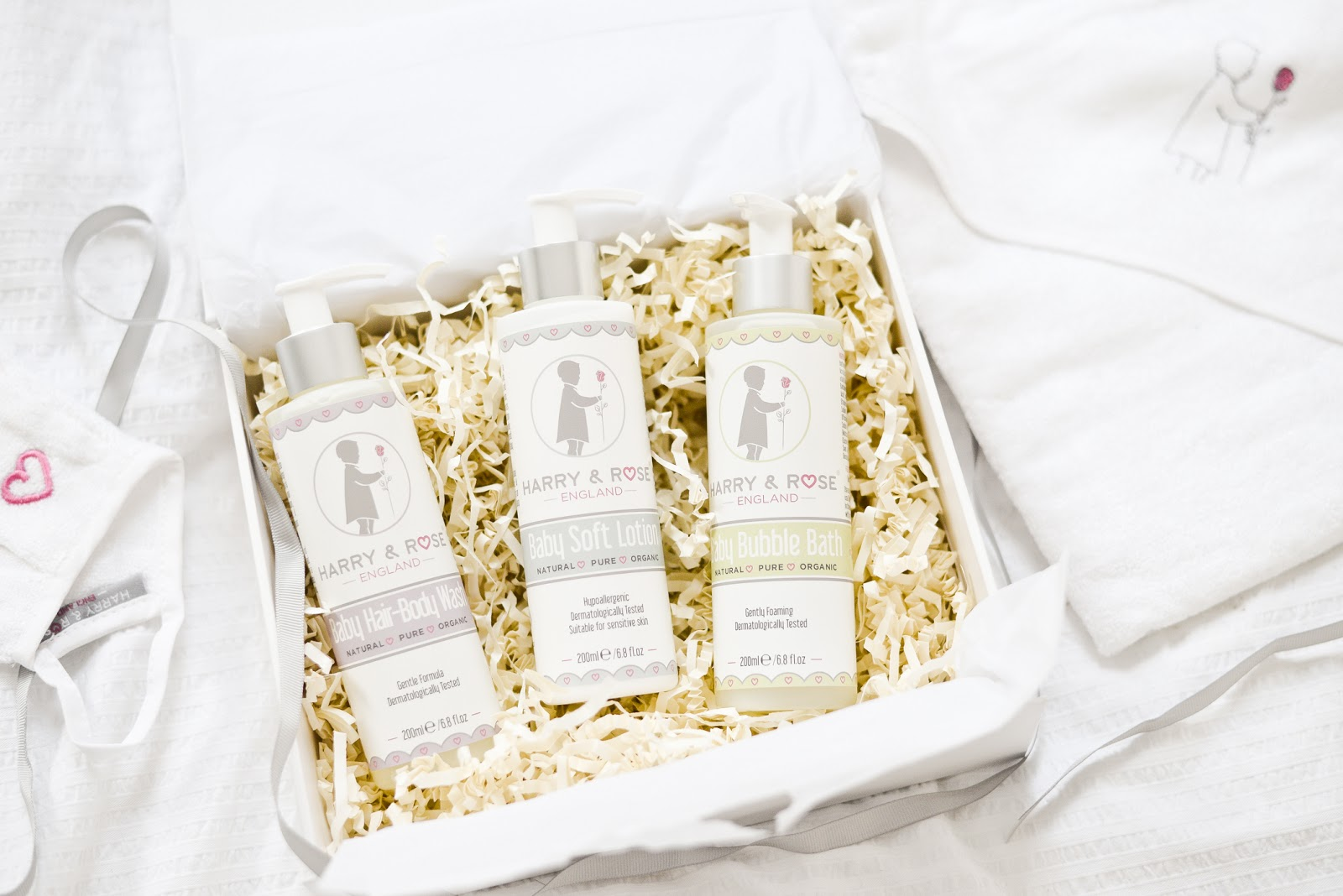 Harry & Rose baby skincare