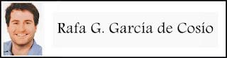 Artículo de Rafa G. García de Cosío