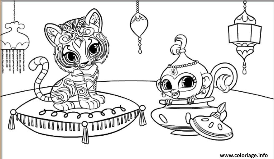 photo about Free Printable Shimmer and Shine Coloring Pages identified as Shimmer and Glow Occasion No cost Printable Coloring Internet pages. - Oh
