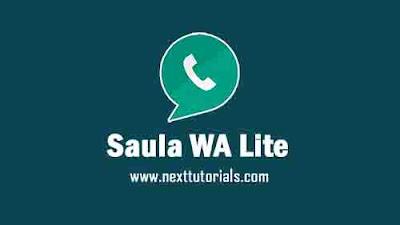 Saula WhatsApp Lite v6.37.2L Latest Version Anti Banned,Install Aplikasi Saula WA Lite Update Terbaru 2021,tema whatsapp keren terbaik,download wa mod