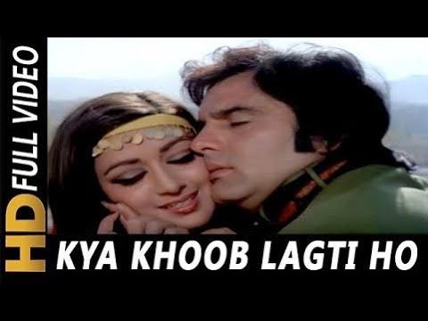 Kya Khoob Lagti Ho Lyrics Dharmatma | Hema Malini X Feroz Khan