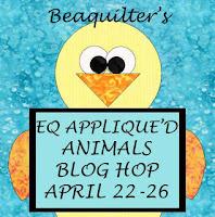 EQ Appliqued Animals Blog Hop