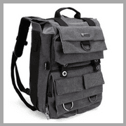 Evecase Classic Canvas Backpack in Best Camera Backpack for Travel