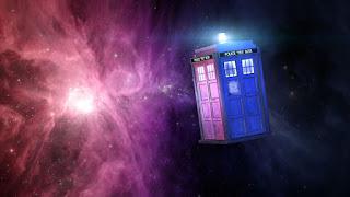 Crochet Doctor Who Police Box Tardis Bag