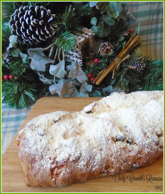 Homemade Stollen Loaf