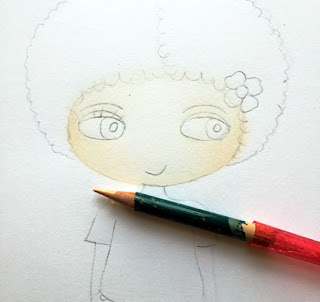 Little Curly (the eco-friendly girl)
