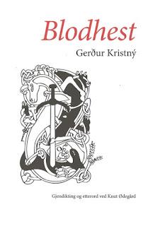 Blodhest av Gerdur Kristny
