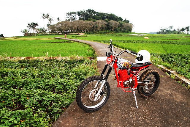 Honda Megapro GL160D Scrambler 4