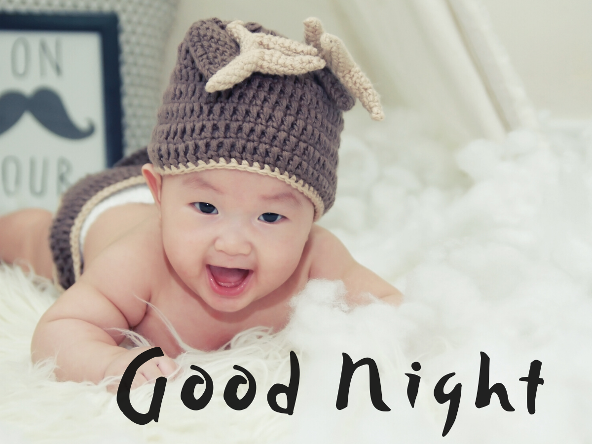 good night baby photos download