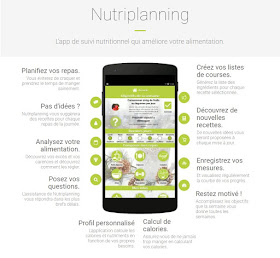 Application NUTRIPLANNING