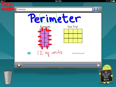 Teach students about perimeter