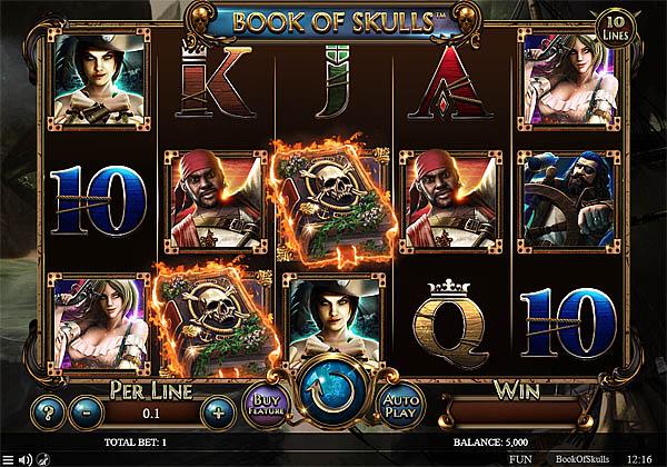 Main Gratis Slot Indonesia - Book Of Skulls Spinomenal