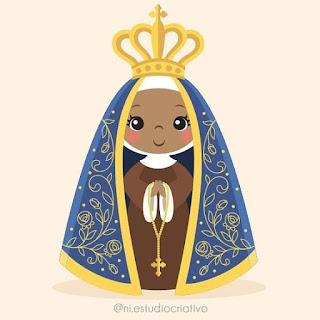 Dogma da Imaculada Conceição de Maria. Imagem de Nossa Senhora Aparecida.