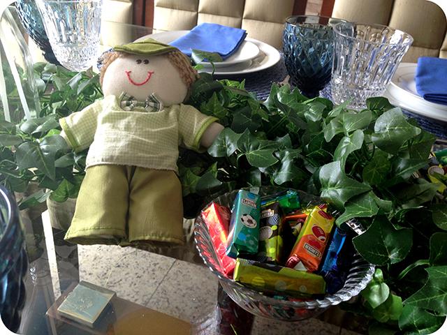 Decoração Festa dos Minions : Mesa Almoço Detalhes
