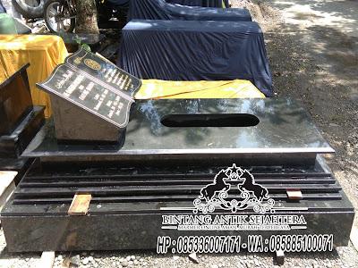 Makam Batu Granit, Makam Granit Bandung, Model Batu Nisan Kuburan Islam