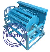Pedal threser manual / perontok padi sistem kayuh