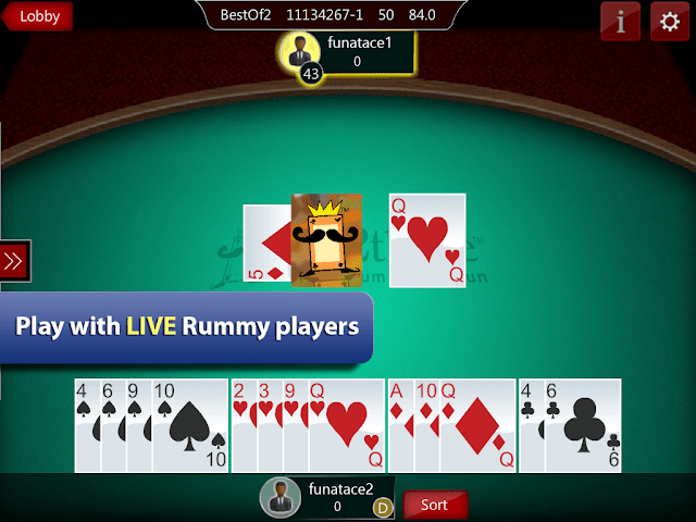 Ace2three rummy gameplay
