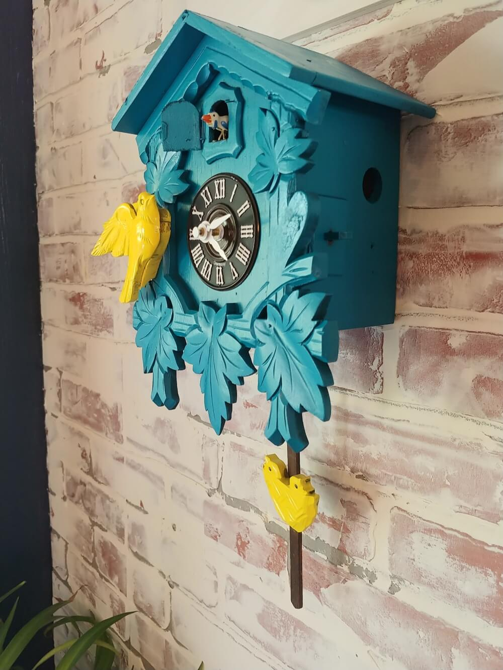 repurposed Cuckoo Clock