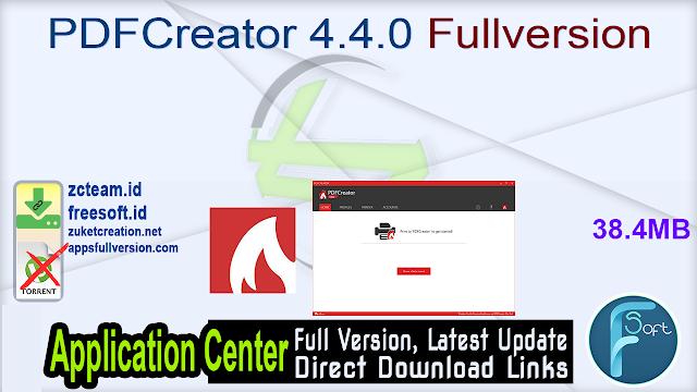 PDFCreator 4.4.0 Fullversion